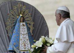 El papa Francisco envió un mensaje por la la Solemnidad de Nuestra Señora de Luján